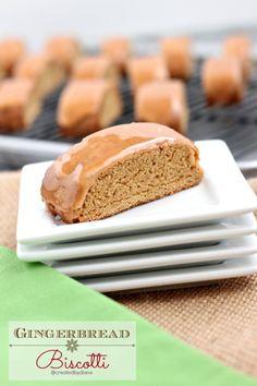 Gingerbread Italian Biscotti