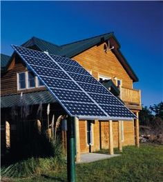 Solar Panels // we will have a house powered on renewable energy... wind and solar