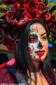2014-10-12-Whittier-Dia-De-Los-Muertos-Art-and-Car-Show-Ar… | Flickr