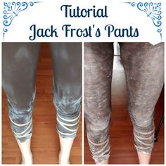 my Jack Frost pants tutorial for you :)