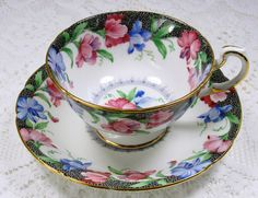 Paragon By Appointment Tea Cup and Saucer Set by TeacupsAndOldLace