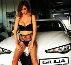 10 of the Sexiest Car Men Should Have to Make any Girl Go Out with You Classy Cars, Sexy Cars, Hot Cars, Woman In Car, Alfa Alfa, Muscle Cars, Cafe Racer Girl, Alfa Romeo Cars, Trucks And Girls