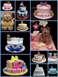 10 More Fun Baby Shower Cakes   View the details at http://www.aagiftsandbaskets.com/wordpress/2014/11/21/theme-baby-shower-cakes-ii/