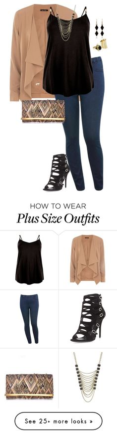 """toya's look remixed"" by kristie-payne on Polyvore featuring M&Co, Giuseppe Zanotti, Lane Bryant and MANGO"