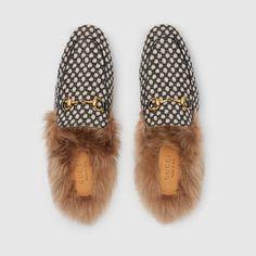 f9372225eca Gucci Men - Princetown dot jacquard slipper - 428619K30501270 Gucci Men