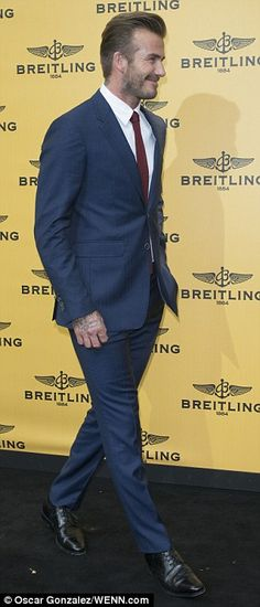 Face of the brand: In 2013 David was revealed as the face of the Breitling for Bentley lin...
