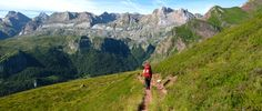 The Pyrenean Haute Route (or HRP, for Haute Randonnée Pyrénéenne) traverses the highest walkable route across the Pyrenees Mountains, taking hikers from Hendaye, France on the Atlantic coast to BanyulssurMer on the Mediterranean.