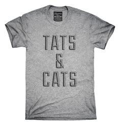 Tats And Cats T-Shirts, Hoodies, Tank Tops