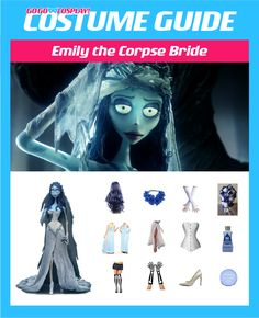 DIY Emily the Corpse Bride Costume for cosplay or halloween #cosplay