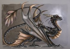 New Wyvern by Key-Feathers on deviantART