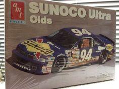 AMT ERTL Sterling Marlin Sunoco Ultra Olds #94 NASCAR 1/25th Model 1991 Rlse  #AMTERTL