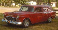 55 Chevy Sedan Delivery - Coca Cola