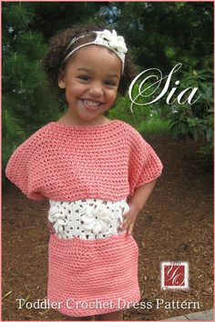 Sia #Crochet Toddler Dress Pattern by Yarn Obsession
