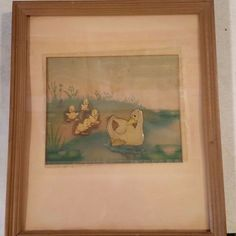 Original 1939 Disney The Ugly Duckling Cell