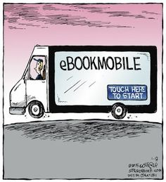 Mystery Fanfare: Cartoon of the Day: eBook Mobile