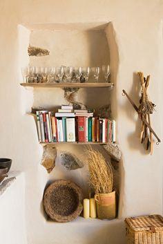 Una casa rústica en la isla de Filicudi, Italia