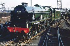 46170 British Legion Steam Trains Uk, Flying Scotsman, Old Wagons, Steam Railway, British Rail, Old Trains, Train Pictures, Steam Engine, Steam Locomotive
