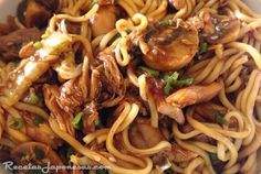 Yakisoba A dish so good all your friends will be asking you to send noods. No Salt Recipes, Curry Recipes, Asian Recipes, Healthy Recipes, Ethnic Recipes, Healthy Food, Yummy Asian Food, Yummy Food, Food C