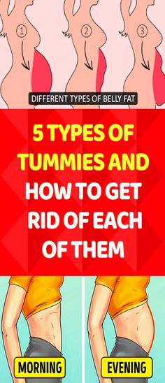 5 Types of Tummies and Ways to Get Rid of Each of Them – Healthy Entire Life Healthy Tips, How To Stay Healthy, Healthy Skin, Healthy Food, Healthy Recipes, Healthy Beauty, Healthy Meals, Cooking Recipes, Health And Fitness Articles