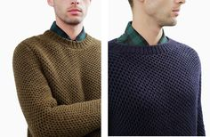 How to knit hexagon stitch  - Jagger Jumper