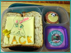 Thunder and the House of Magic Lunches cheese art #easylunchboxes