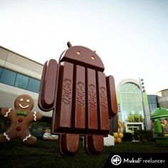 #MukulFreelanceBulletin After Icecream Sandwitch, Jellybean it's official and confirmed  Android 4.4 will be called Android KitKat  Wanna Bite!!! https://www.facebook.com/photo.php?fbid=388670744594778=a.331748506953669.1073741828.331746600287193=1