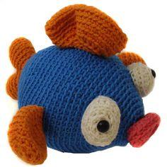fish Stuffed Animal Crochet Pattern