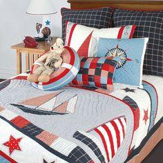 Nautical kids bedroom