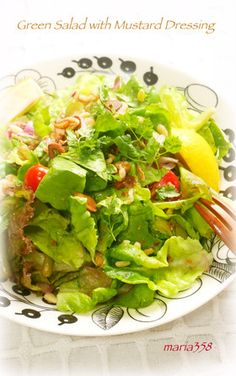 いんげんとサラダ菜のグリーンサラダ by maria358 [クックパッド] 簡単 ...