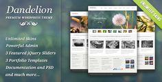 Dandelion - Powerful Elegant WordPress Theme - ThemeForest Item for Sale