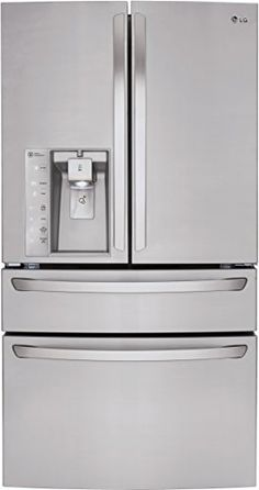 LG LMXS30746S French Door Refrigerator with 30 Cu. Ft. Capacity, in Stainless Steel Reviews           $ 3,959.00 Refrigerators Product Features 30 cu.ft. Slim SpacePlus(R) Ice System CustomChill Drawer Refrigerators Product Description 30.0 cu. ft. French Door Refrigerator with CustomChill Drawer, EasyReach Bins, Glide N' Access Shelf, Glide N' Serve Drawer and External Ice/Water Dispenser  http://www.refrigeratorsworld.com/lg-lmxs30746s-french-door-refrigerator-with-30-cu-..