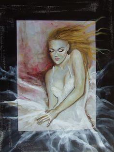 fasci-arte: Dorina Costras Painting, Crusts, Fine Art, Painting Art, Paintings, Painted Canvas, Drawings