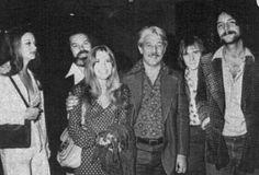 Vintage Stevie Nicks & Lindsey Buckingham on the far right