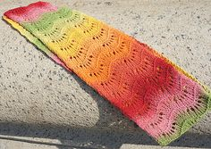 Ravelry: Urban Lace Infinity Scarf pattern by Tanis Gray.  Free