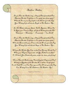 Authors' Anthem Authors, Sheet Music, Singing, Writer, Songs, Life, Sign Writer, Music Score, Writers
