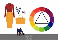 Cómo usar el círculo de color para crear #Outfit con armonía