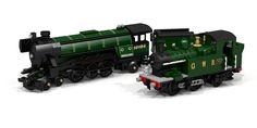 ~ Lego MOCs ~ LEGO Ideas - GWR Class 14xx steam engine