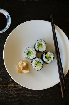 Get on a roll making your own vegetarian or vegan sushi at home.