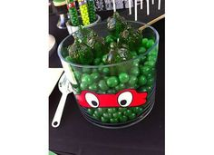 TMNT Birthday Party Ideas | Photo 18 of 40 | Catch My Party