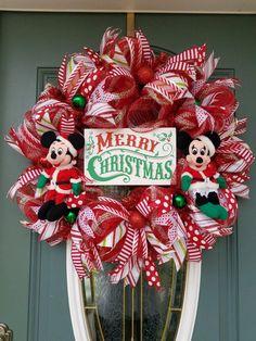 disney christmas wreath christmas wreath mickey mouse minnie christmas wreath christmas for front