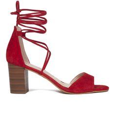 4003b185cac Sandalia romana de tacón Rojo Piel - miMaO Zapatos Online Spain – miMaO  ShopOnline