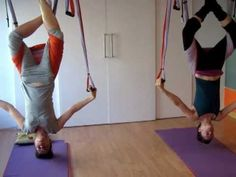 ▶ Yoga Swing, Suelta el Cuerpo Nuevas Posturas! - YouTube