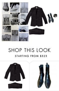 """""""Electricity"""" by lacerta ❤ liked on Polyvore featuring Yves Saint Laurent and Jil Sander"""