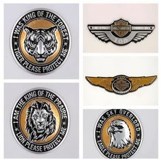 Cheap badge emblem, Buy Quality badge costume directly from China badge necklace Suppliers: The lion tiger eagle specifications: 7.5 CM in diameter Specifications: 12*3.3CM Specification