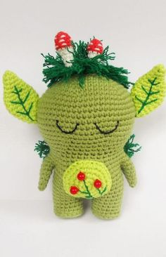 Free Crochet Pattern Forest Spirit Amigurumi, at Amigurumi Today.
