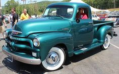 1954 Chevy Pick Up Truck. 1954 Chevy Truck, Classic Chevy Trucks, Chevrolet Trucks, Classic Cars, 1955 Chevrolet, Chevrolet Impala, Vintage Pickup Trucks, Antique Trucks, Antique Cars