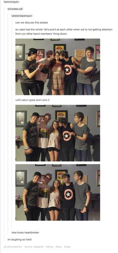 OMG LAUGHING SO HARD!!!!!!! XD poor Luke :(