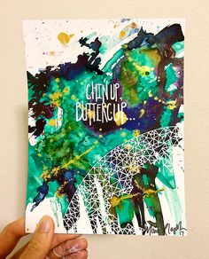 Mariel Lazo-Duran   Abstract with acrylic ink and uniball pen on multimedia paper