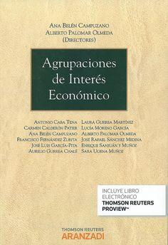 Las agrupaciones de interés económico / Ana Belén Campuzano, Alberto Palomar Olmeda, dirección ; autores: Antonio Caba Tena... [et al.], 2014