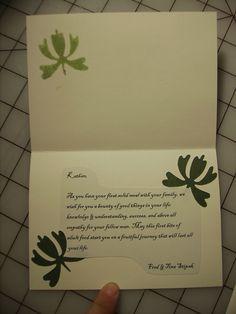 A Cousins Annaprashan Card